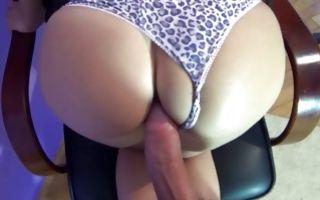 Naughty dark-haired Ex-GF sucking rod before insane sex