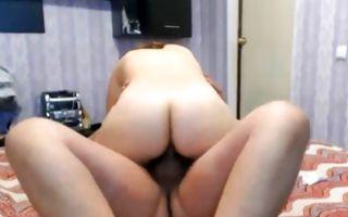Depraved man deeply fucking nasty girlfriend after blowjob